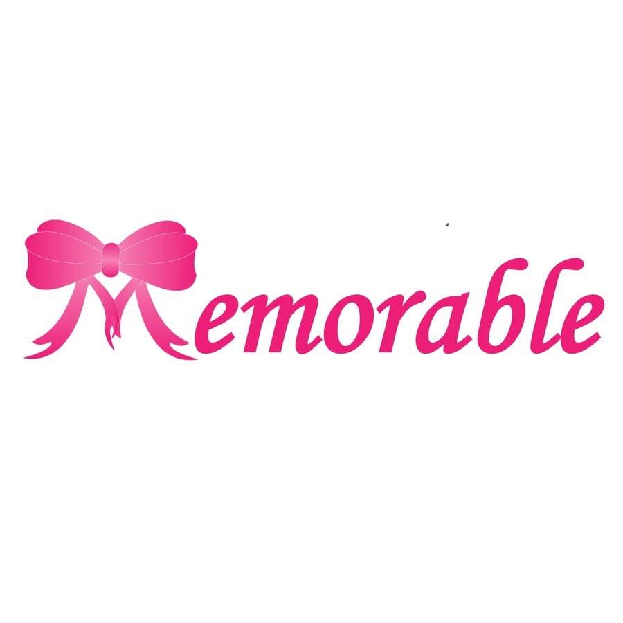 """Konkurrenceindlæg #17 for Design logo for """"Memorable Wedding.me"""""""