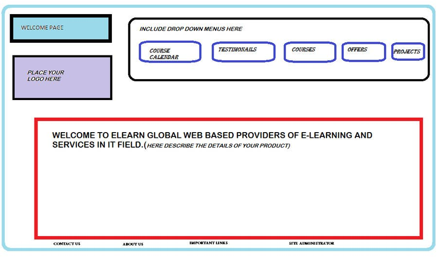 #4 for PROTOTYPE for Ulearn(WEB SITE) by avisharma619