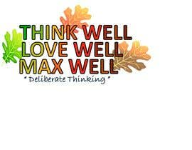 #166 para Logo for ThinkWell LoveWell MaxWell por krazyshail