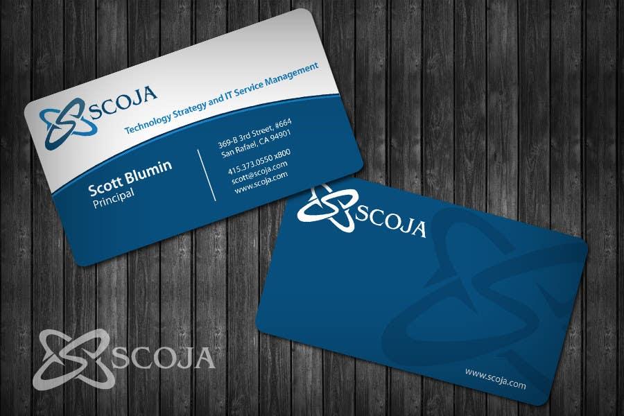 Konkurrenceindlæg #                                        320                                      for                                         Business Card Design for SCOJA Technology Partners