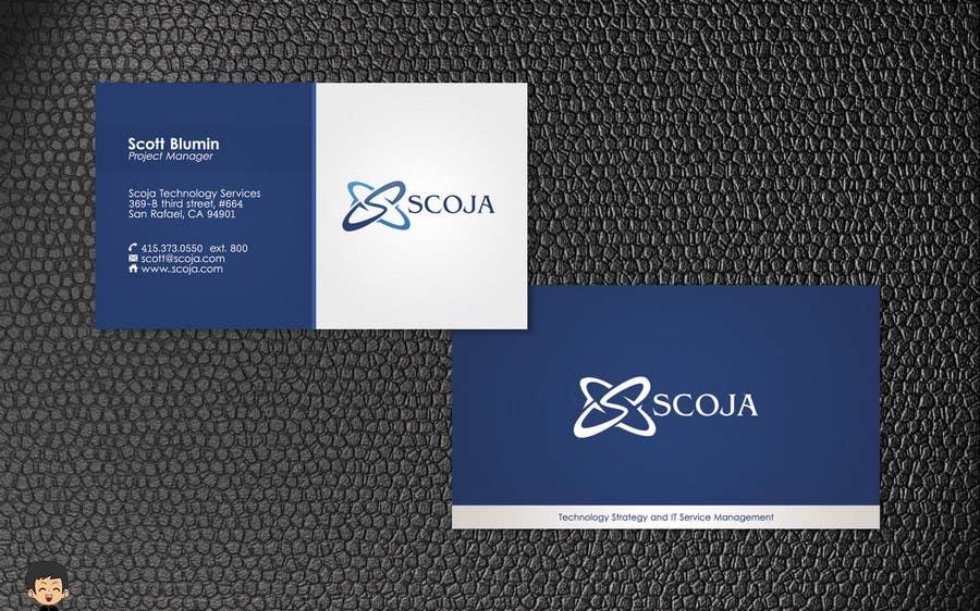 Konkurrenceindlæg #                                        252                                      for                                         Business Card Design for SCOJA Technology Partners