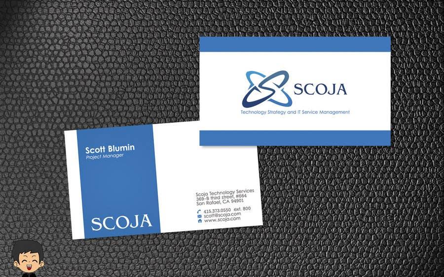 Konkurrenceindlæg #                                        259                                      for                                         Business Card Design for SCOJA Technology Partners