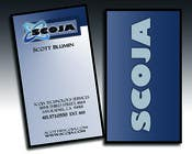 Graphic Design Konkurrenceindlæg #32 for Business Card Design for SCOJA Technology Partners