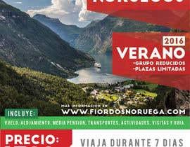 #6 untuk Poster  design for trips around Norway oleh ruizgudiol