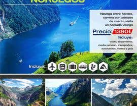 #24 untuk Poster  design for trips around Norway oleh corradoenlaweb