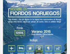 #44 untuk Poster  design for trips around Norway oleh AndreiaSantana27