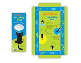 #2 para Create Print and Packaging Design-cat  scratcher box por vieghie