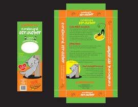 #6 para Create Print and Packaging Design-cat  scratcher box por vieghie