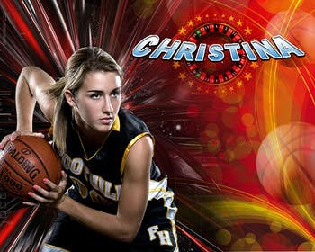 #44 pentru Digital background designer for sports posters. de către saneshgraphic11