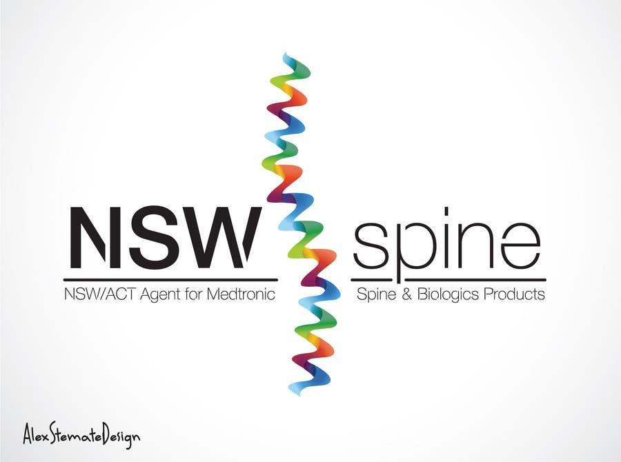 Penyertaan Peraduan #                                        318                                      untuk                                         Logo Design for NSW Spine