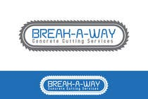 Graphic Design Contest Entry #63 for Logo Design for Break-a-way concrete cutting services pty ltd.