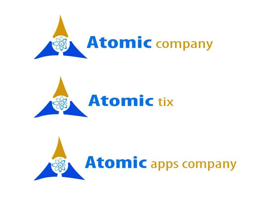 Inscrição nº 6 do Concurso para Design a Logo for The Atomic Series of Sites