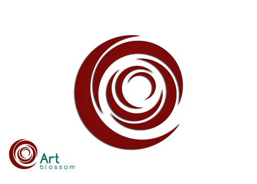 Logo for Russian graphic design company Art-blossom. için 263 numaralı Yarışma Girdisi
