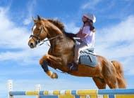 Bài tham dự #48 về Photoshop cho cuộc thi Horse jump photoshop