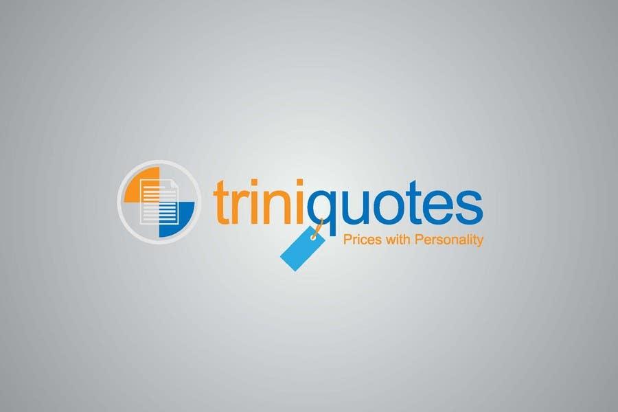 Contest Entry #56 for Logo Design for TriniQuotes.com