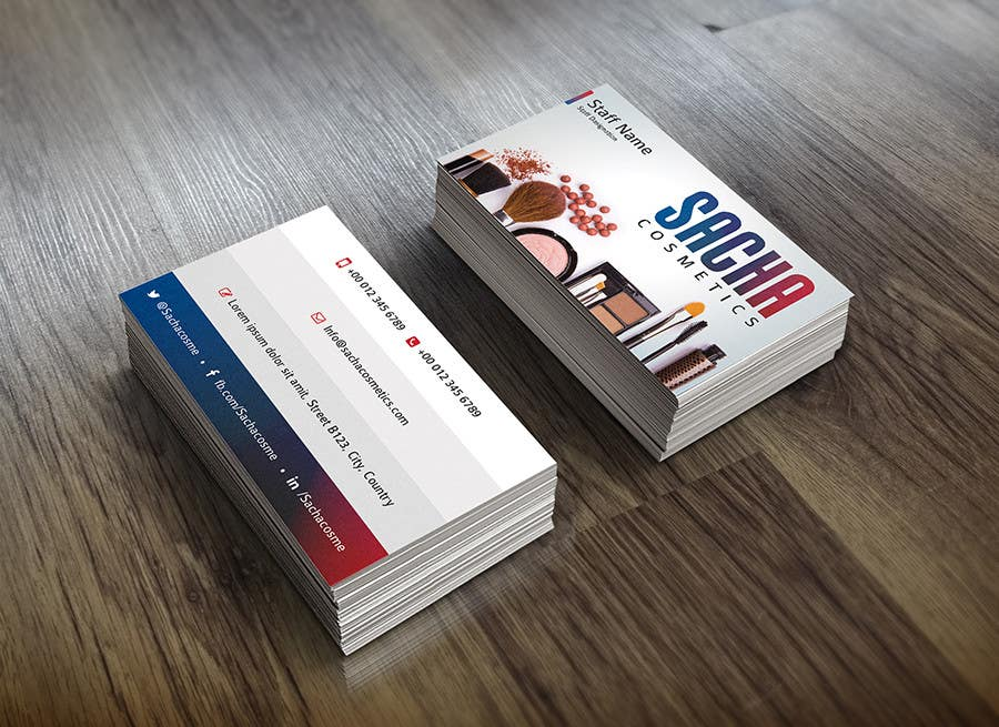 Entry 159 By Pixozdotnet For Cosmetics Company Business Cards