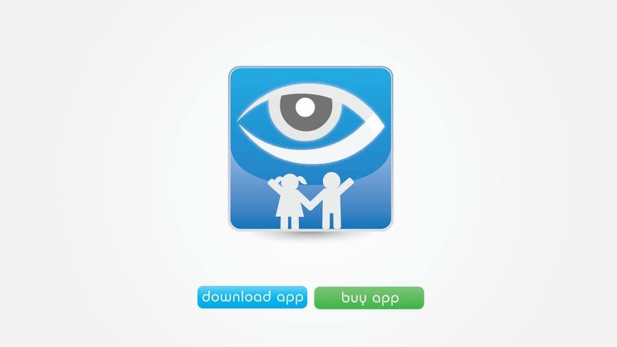 Kilpailutyö #22 kilpailussa Design a Logo for our mobile app (parental control - watching kids activity )