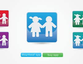 #23 for Design a Logo for our mobile app (parental control - watching kids activity ) af KiVii