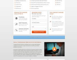 nº 10 pour Home page design plus logo - legal site par rainbowfeats