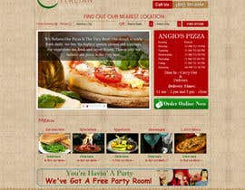 nº 31 pour PSD for an Italian pizza restaurant web site. par kosmografic