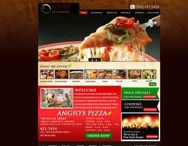 nº 11 pour PSD for an Italian pizza restaurant web site. par MagicalDesigner