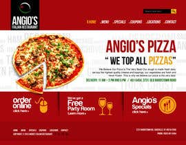 #16 para PSD for an Italian pizza restaurant web site. por arunnm89