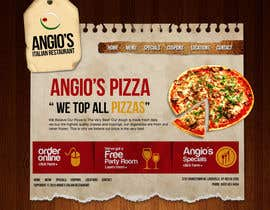 nº 20 pour PSD for an Italian pizza restaurant web site. par arunnm89