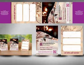 #20 untuk Design a Table Tent + Card for my restaurant oleh mamem