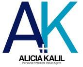 """Logo Design Inscrição do Concurso Nº57 para Design a Name & Logo using """"Alicia Kalil - Your Personal Medical Travel Agent"""