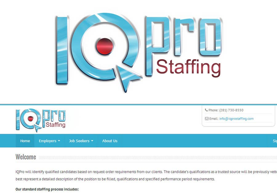 Bài tham dự cuộc thi #                                        16                                      cho                                         Develop a Corporate Identity for IQPro Staffing