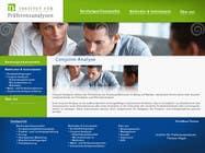Graphic Design Kilpailutyö #91 kilpailuun Website Design for small marketing consulting company