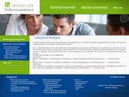 Graphic Design Kilpailutyö #106 kilpailuun Website Design for small marketing consulting company