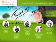 Graphic Design Kilpailutyö #80 kilpailuun Website Design for small marketing consulting company