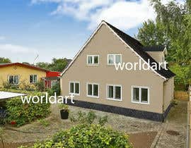 nº 21 pour Change the look of two pictures of a house to look like another house par Worldart