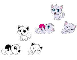 #11 untuk illustrate and design a cute cat in 3 different poses oleh crossforth