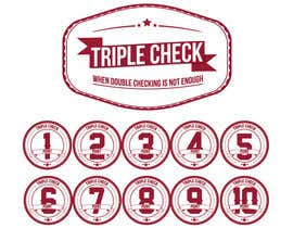 #23 para Triplecheck logo and stamp por rssl