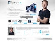 Bài tham dự #41 về Graphic Design cho cuộc thi Design a single Page Website with Logo for a PC repair service