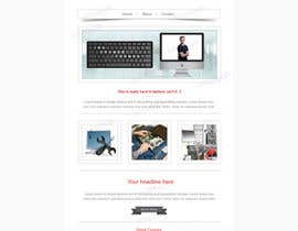 #2 untuk Design a single Page Website with Logo for a PC repair service oleh einstech