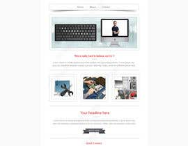 einstech tarafından Design a single Page Website with Logo for a PC repair service için no 14