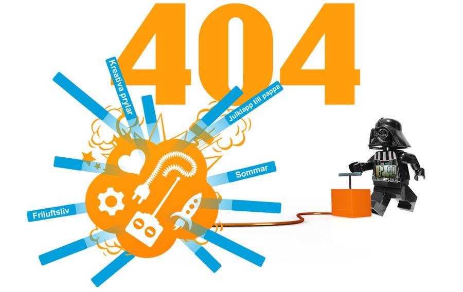 Bài tham dự cuộc thi #11 cho Design an image for a 404 page