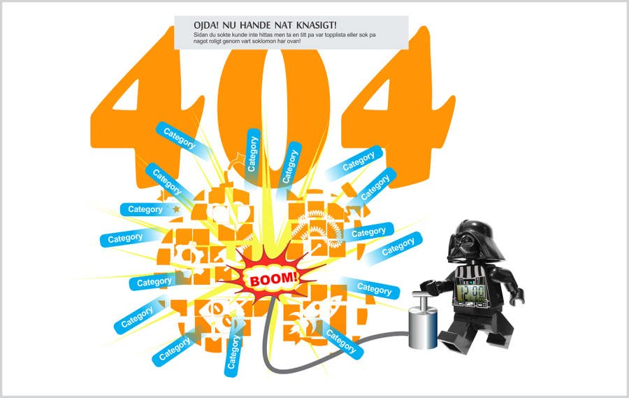 #15 for Design an image for a 404 page by mgliviu