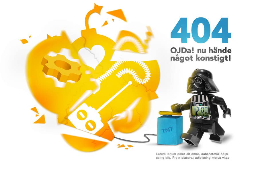 #4 for Design an image for a 404 page by umapomba