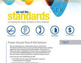 #133 for Design an Advertisement for Acoustic Floor Solutions by echobravo