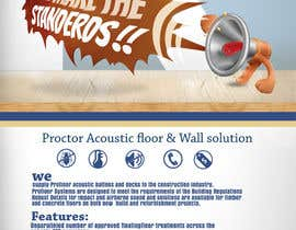 #118 para Design an Advertisement for Acoustic Floor Solutions por mamem