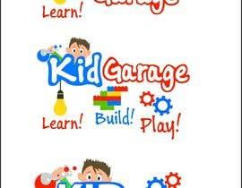 Nro 60 kilpailuun Kid Garage - where kids go to build, play and learn needs a logo käyttäjältä JosipBosnjak