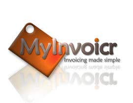 #86 for Logo Design for myInvoicr af DavidPinchen