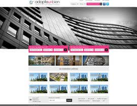 nº 21 pour Design a Website Mockup for a real estate website par dilip08kmar