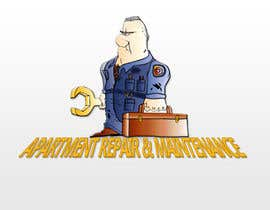 #88 para Design a Logo for Apartment Maintenance Comapny por kirtanwa
