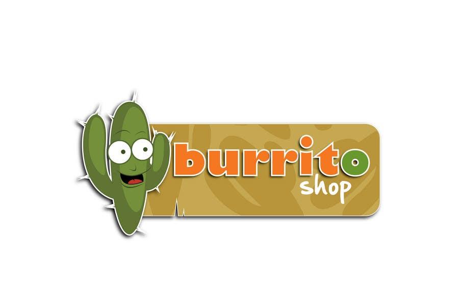 Proposition n°                                        85                                      du concours                                         Logo Design for burrito shop