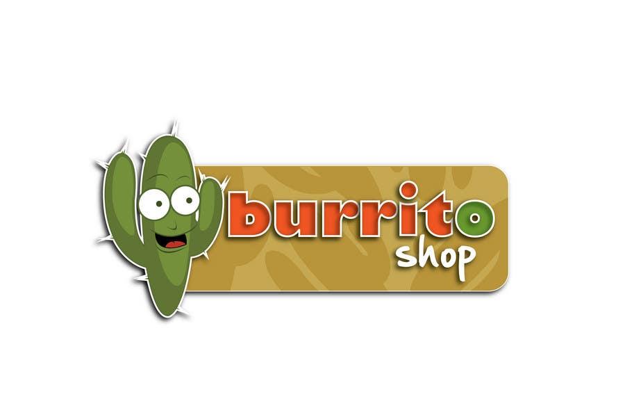 Proposition n°                                        86                                      du concours                                         Logo Design for burrito shop